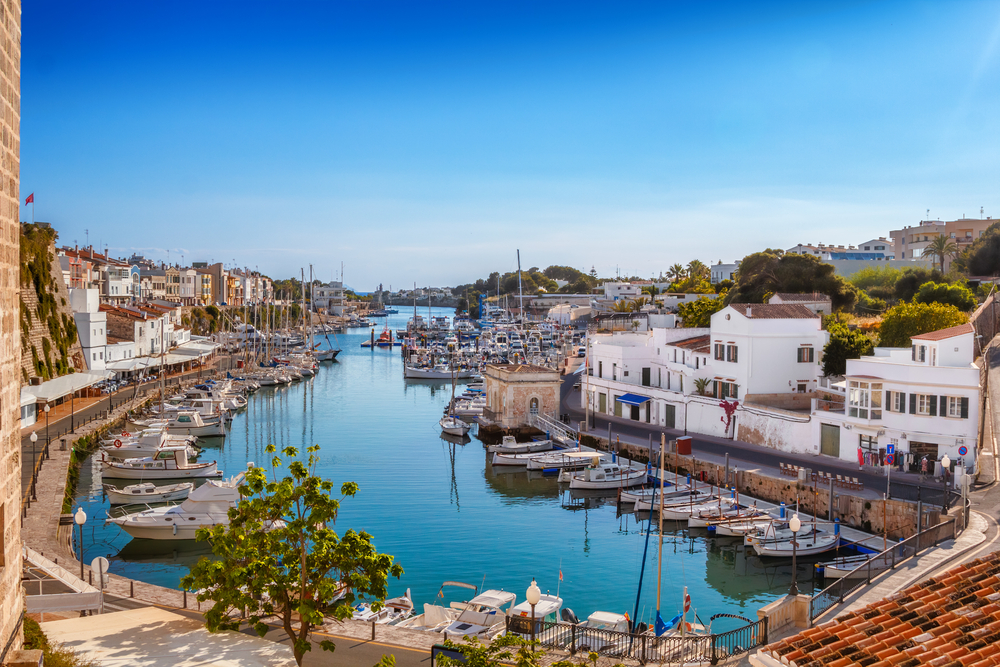 Menorca - A Yacht Charter Spain sailing holiday