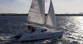 Crewed or bareboat catamaran for charter